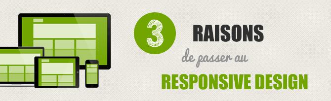 Image 3 raisons de passer au responsive design